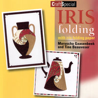 Iris Folding Book with Papers(IVT205)