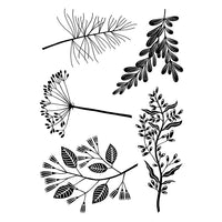 Woodware Clear Stamps - Woodland Sprigs