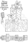 Woodware Clear Stamps - Dotty Presents