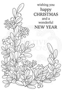 Woodware Clear Stamps - Foliage Corner