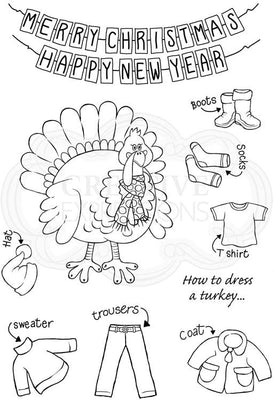 Woodware Clear Stamps - Turkey
