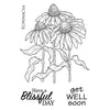 Woodware Clear Stamps - Echinacea