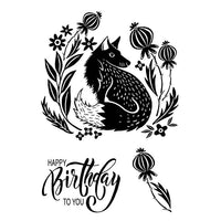 Woodware Clear Stamps - Mr Foxy