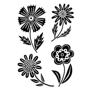 Woodware Clear Stamps - Mini Blooms