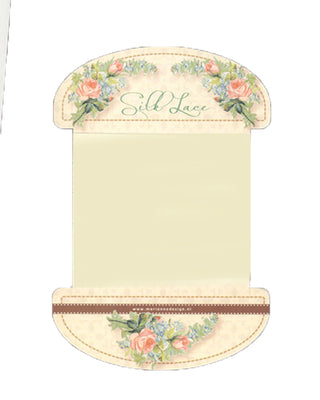 Silk Lace Ribbon - Ivory