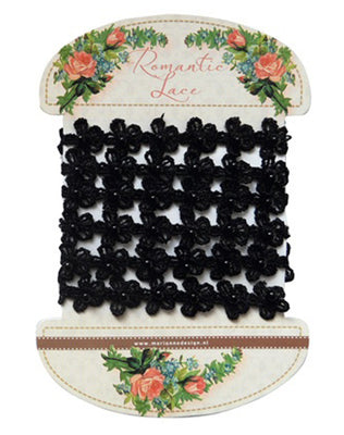 Romantic Lace Ribbon - Black