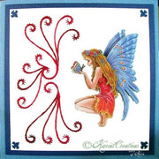KC Embroidery Pattern - Fairy Wings