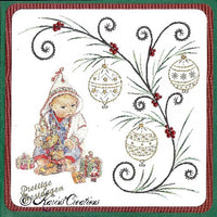 KC Embroidery Pattern - Hanging Ornaments