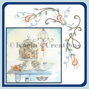 KC Embroidery Pattern - Swirls and More Corner