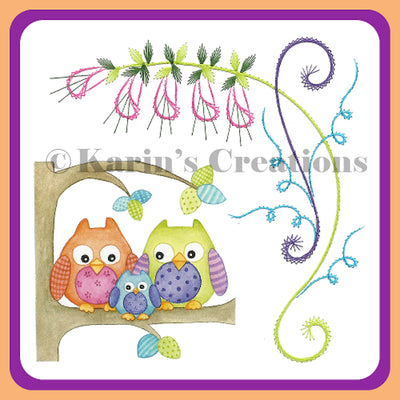 KC Embroidery Pattern - Designs of Spring
