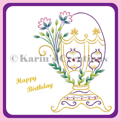 KC Embroidery Pattern - Spring has Sprung