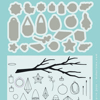 Marianne Design Stamps Ornamented