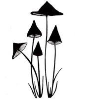 Lavinia Stamps - Slender Mushrooms