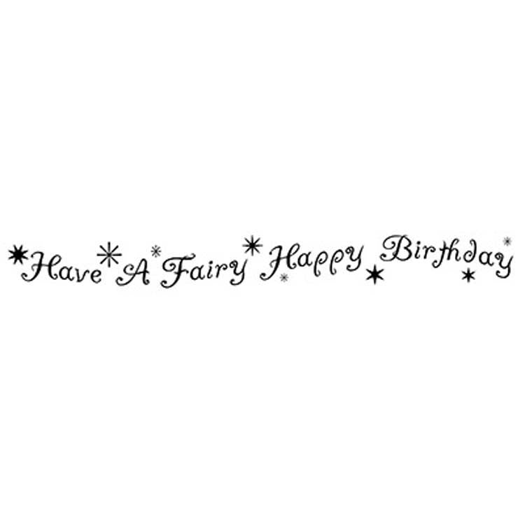 Lavinia Stamps - Fairy Happy Birthday