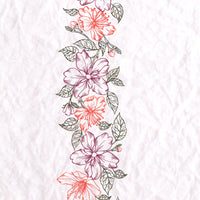 Nellie's Choice - Clear Stamp Layered - Flower Border 1
