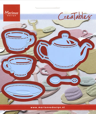 Marianne Design: Creatables - Tea For You