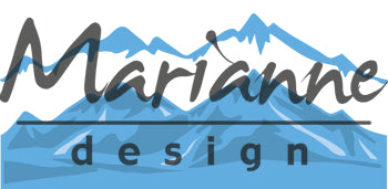 Marianne Design Creatables Horizon Snowy Mountains