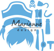 Marianne Design Creatables Kim's BudDies Pirate