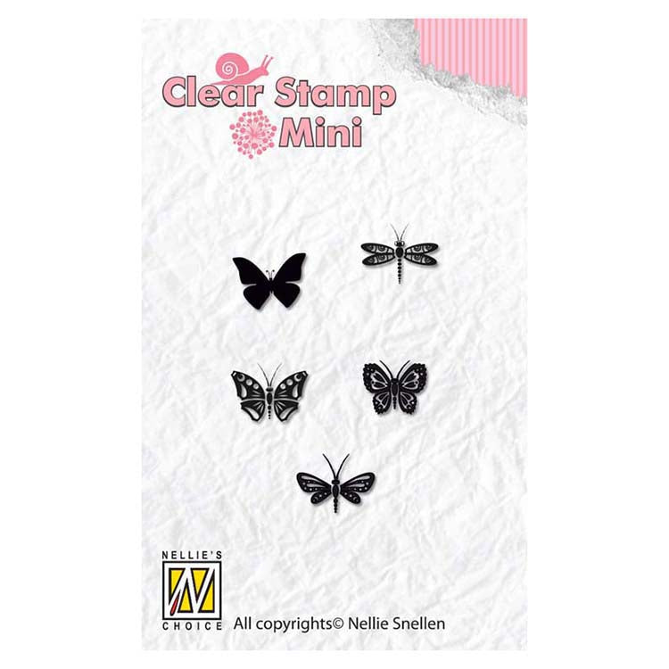 Nellie's Choice - Clear Stamp Butterflies
