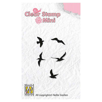 Nellie's Choice - Clear Stamp Birds