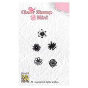 Nellie's Choice - Clear Stamp Flowers