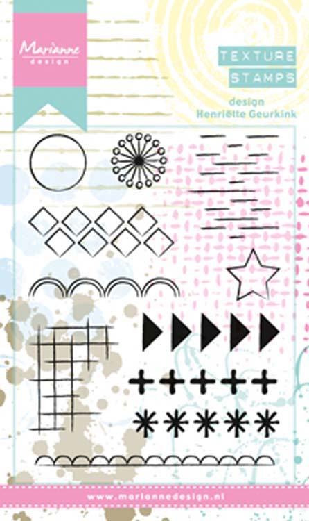 Marianne Design Stamps Henriette's elements