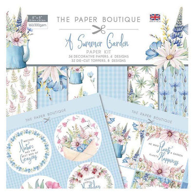 The Paper Boutique Summer Garden Paper Kit