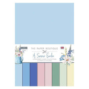 The Paper Boutique Summer Garden Colour Card Collection