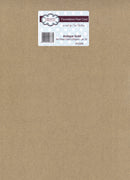 Foundation A4 Pearl Cardstock 230gsm pk 20 - Antique Gold