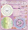 3 Parchment Patterns -Flowers & Butterflies