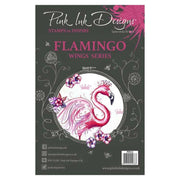 Pink Ink Designs A5 Clear Stamp Flamingo