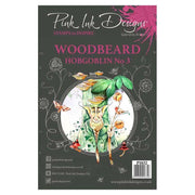 Pink Ink Designs A5 Clear Stamp Woodbeard