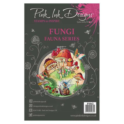 Pink Ink Designs Clear Stamp Fungi