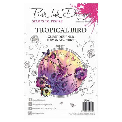 Pink Ink Designs Clear Stamp Tropical Bird