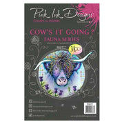 Pink Ink Designs Clear Stamp Cow's It Going?
