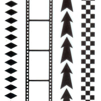 Clear stamp - Border stamp - Arrows