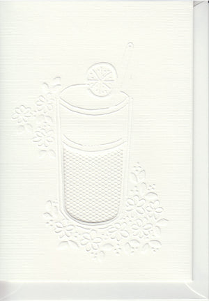 Pontura Card Set -3 cards/envelopes - Cool Drink