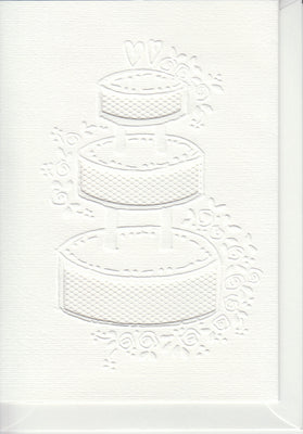 Pontura Card Set -3 cards/envelopes - Cake