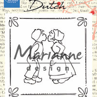 Marianne Design Powder Pink - Kissing Couple