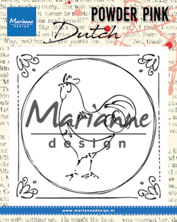 Marianne Design Powder Pink - Dutch Rooster