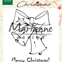 Marianne Design Stamps Merry Christmas Bells