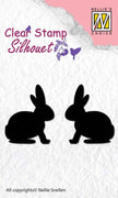 Nellie's Choice - Clear Stamp Silhouette Hare