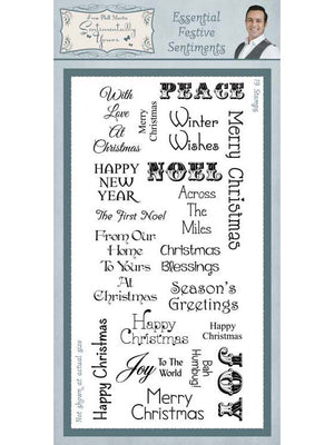 Creative Expressions - Clear Stamps - Essential Festive Sentiments