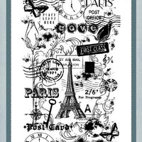 Creative Expressions - Clear Stamps - Traveller
