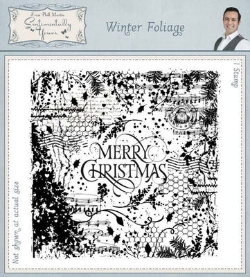 Creative Expressions - Clear Stamps - Winter Foliage