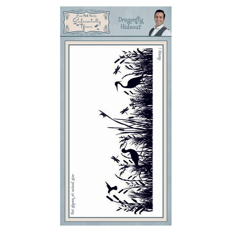 Creative Expressions - Clear Stamps - Dragonfly Hideout DL