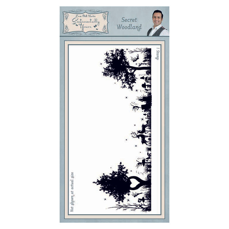 Creative Expressions - Clear Stamps - Secret Woodland DL