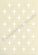 Creative Expressions Stencils Collection - Star Grid