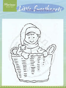 Clear Stamps - Little Sweetheart in Basket