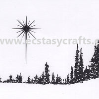 Tiny's Pinetrees Clear Stamp